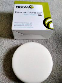 POLISHING WHITE FOAM PAD CLOSED CELL FINIXA - 145 X30mm -£8