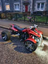 Road legal quad