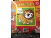 Safari sliding puzzle book
