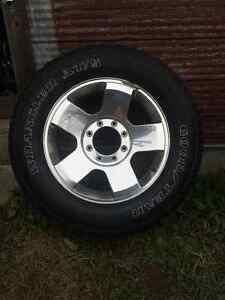 Ford 20'' rims and tires
