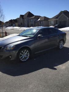 2012 Lexus IS Grey Sedan