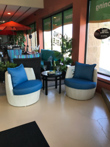 Patio Furniture End Of Summer Showroom Model Clearance Sale
