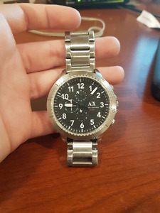Mens ARMANI EXCHANGE Stainless Steel Watch AX1750