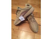 YEEZY BOOST 350 Adidas Oxford Tan Unisex Mens Women's Trainers Shoes
