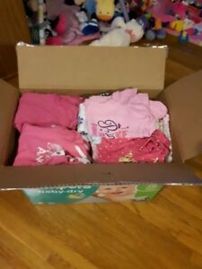 Box of 6 & 6-9 month baby girl clothes
