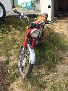 Looking to trade vintage street bike for musical gear