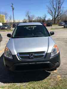 Honda Crv AWD 2003 in excellent conditions.