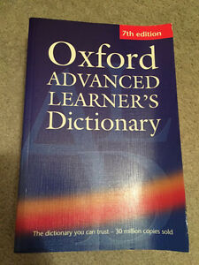 Oxford Advanced Dictionary (Brand New)