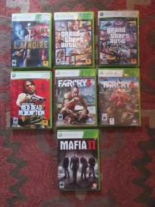 X Box 360 ..16 Games In Total..$50.00 for the lot