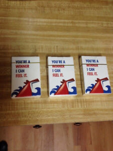 Carnival Cruise Ship Collectible Playing Cards