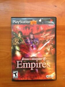 Dynasty Warriors 4 Empires Playstation 2 Ps2