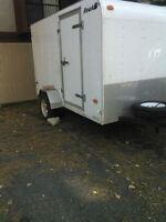 5×10 enclosed trailer