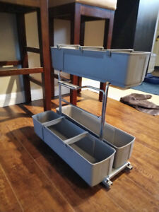Under the sink pullout caddy drawer
