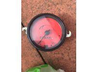Classic Vw beetle red speedo