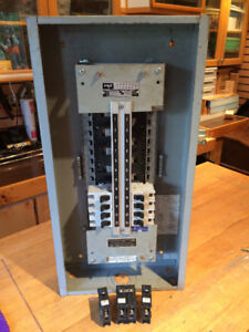 225 Amp Electrical panel and breakers