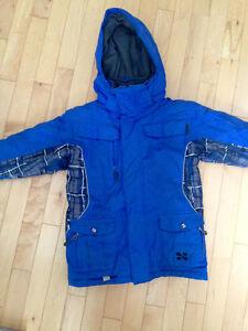 Manteau hiver garçon 5 ans