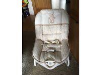 Singing vibrating baby chair