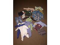 3-6 month smart baby boy clothes bundle