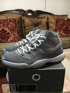 Air Jordan Cool Grey 11s Size 10.5