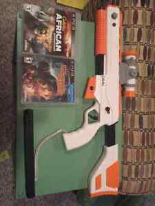 Cabela game pack with gun ps3