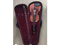 Inter music student violin 1/2