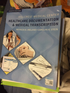 Healthcare Documentation and Medical Transcription Textbook