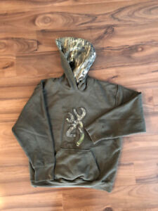 Browning Youth Hoodie size XL Like NEW 1e52f2787a2e