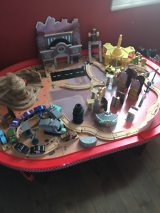 Lightening McQueen Race Car Table for Sale