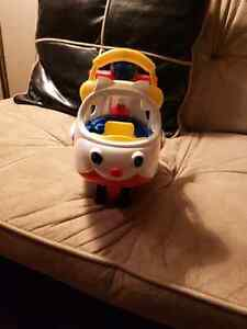Fisher Price Little People Airplane and School Bus