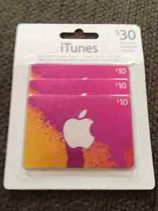 $30 in iTunes cards for $25