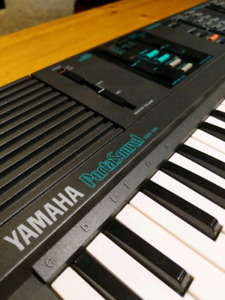 Yamaha ports sound vs 100 piano synth keyboard