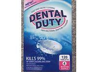Anti-bacterial denture cleanser