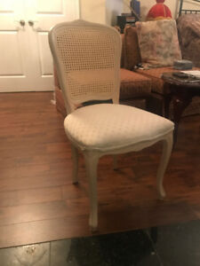 Queen Anne style Decorative Rattan Occasion Chair