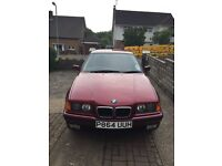 BMW 318i SE 1997 (note engine problem that needs fixing)