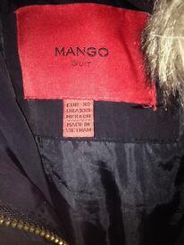 Mango down ladies jacket size. XS