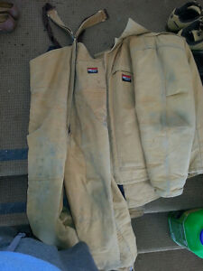 Bibbed Coveralls and Jacked