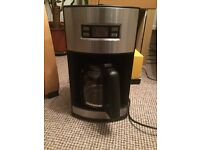 Coffee percolator with timer