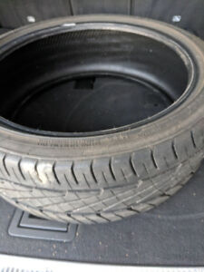 Racing low profile tires - 205/40/ZR18 86W