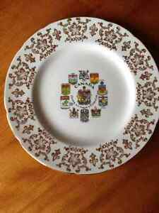 Vintage Canada Coat of Arms & Emblems Plate