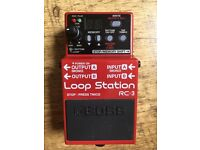 Boss RC3 Looper, six months old.