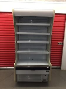 Grab and go open merchandiser for only $1250