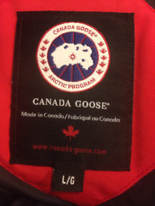 Canada Goose Men's Large In Great Condition Netogiable