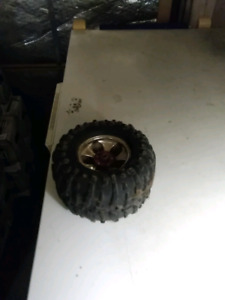 RC monster truck wheels and rims