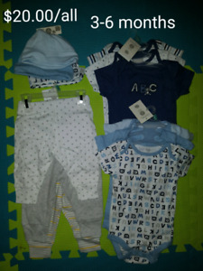 Baby Boy Clothing (3-6, 6-9, 18-24 months) NEW PRICES
