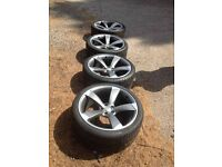 Audi Rotor Alloy Wheels Delivery Available
