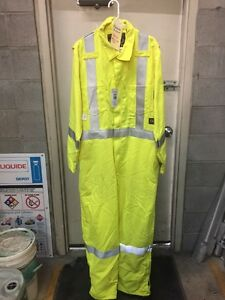 For Sale New Flame Resistant Hi-Vis Unlined Coverall