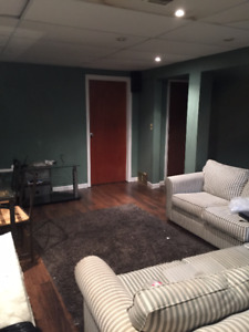 2 BDR Basement Apartment --  Near SLC Available October 1st