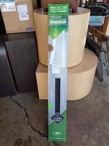Rain Gutter Protectors, 24 Linear Feet - NEW In Box