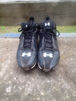 Size 11 Under Armour Football/Rugby Cleats