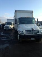 2007 HINO EXCELLENT TRUCK HIGH AND WIDE 26 FT BOX